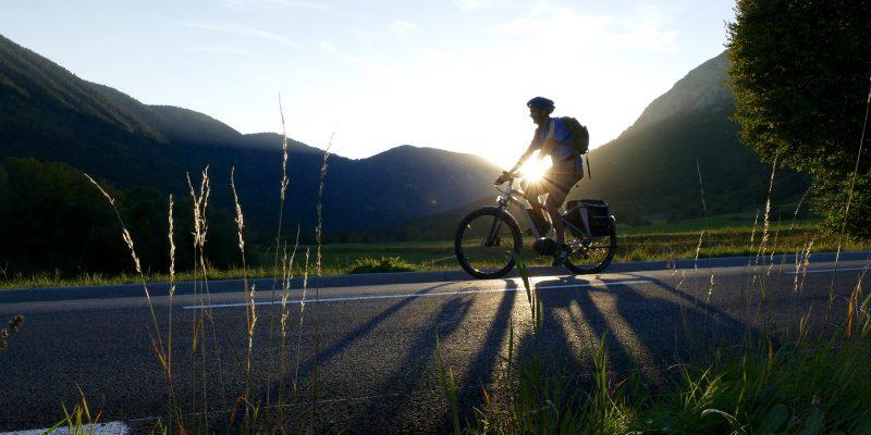 Essayez le vélo électrique en montagne!