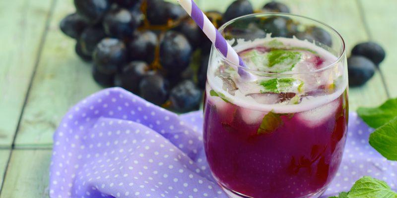 Boire du jus de raisin pour sa santé