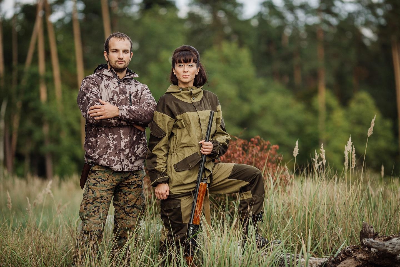 Quel vêtement est adapté pour la chasse ? 1