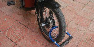 Comment protéger sa moto avec un antivol?