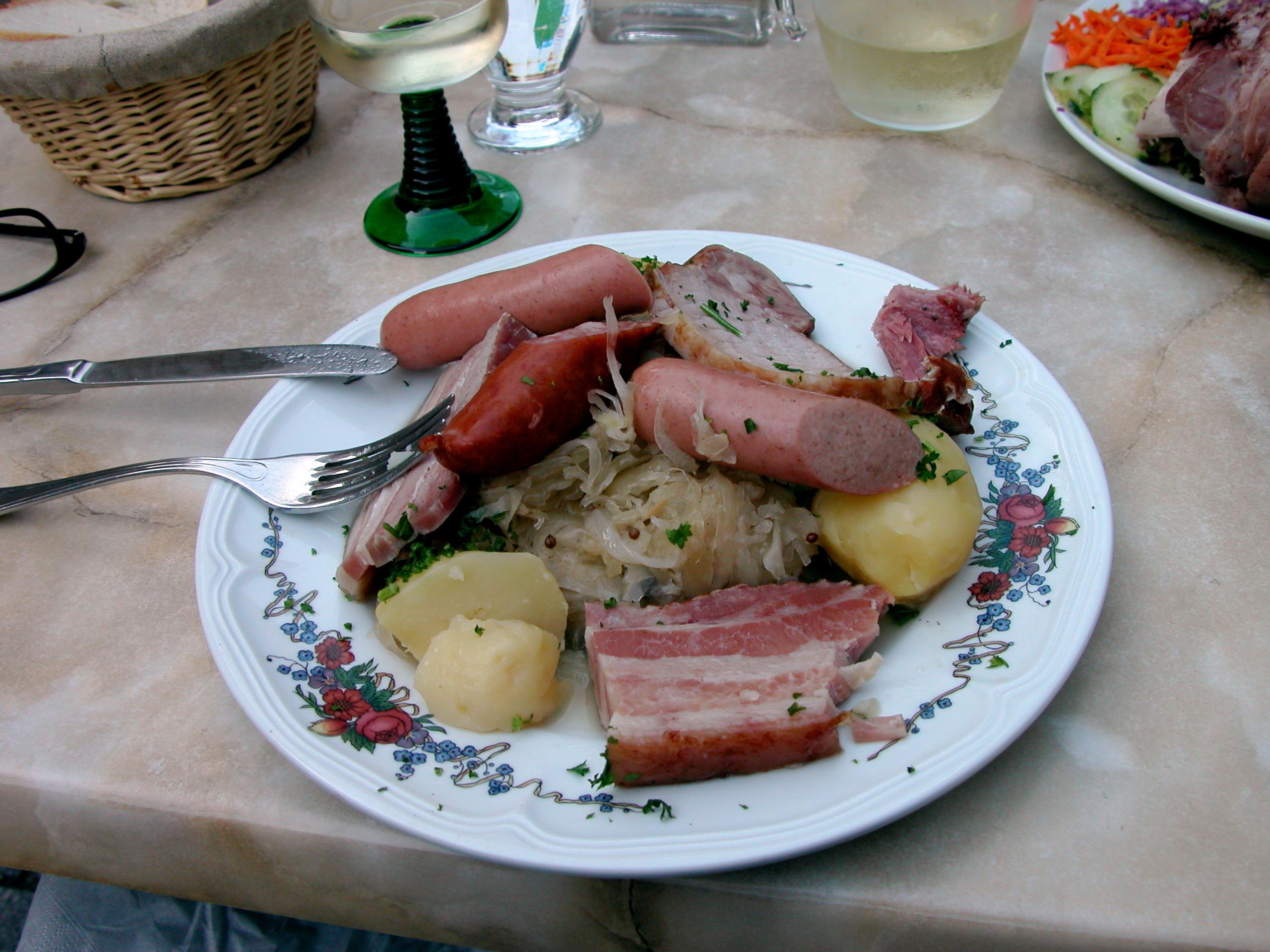 La cuisine alsacienne 1
