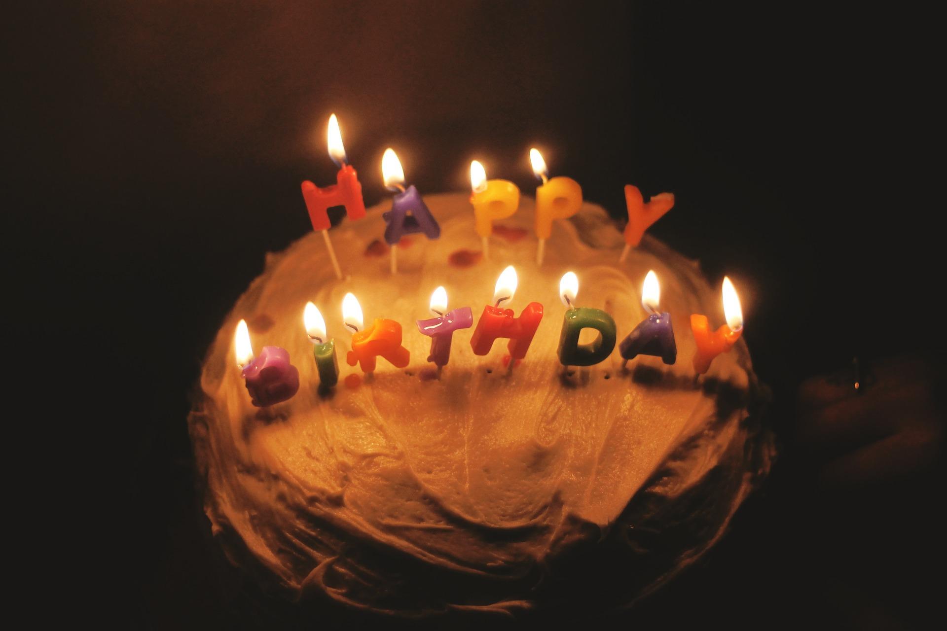 Quel gâteau pour mon anniversaire ? 1